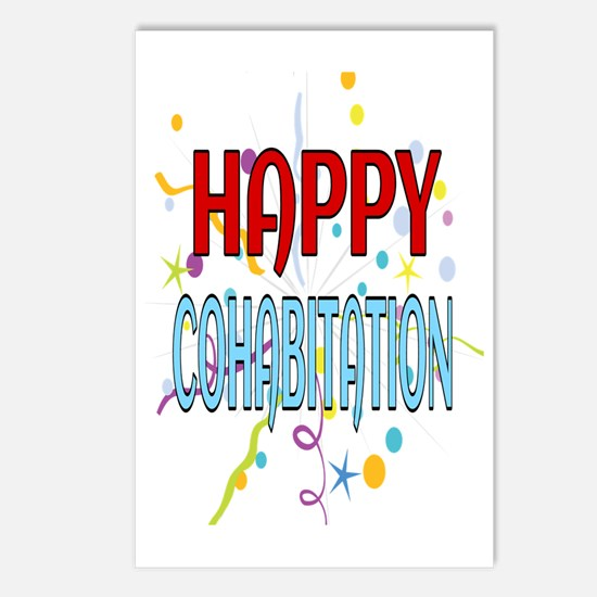 Cute Cohabitation Postcards (Package of 8)