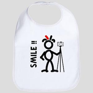Red Smile3 Bib