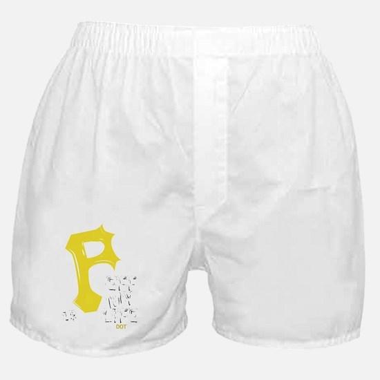 pirates-white Boxer Shorts