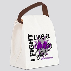 Fight Like A Girl Lupus 13.1 Canvas Lunch Bag