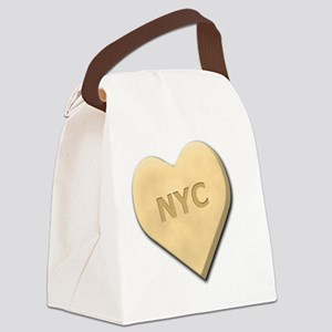SWEETHEARTNYCYELLOW Canvas Lunch Bag
