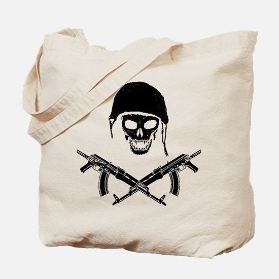 skullforshirt2black.gif Tote Bag