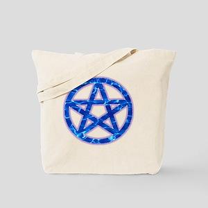 Water Pentagram Tote Bag