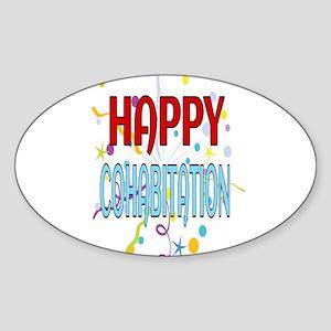 Happy Cohabitation Sticker