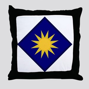40th Infantry Division Throw Pillow