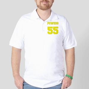 charros-back-yellow Golf Shirt