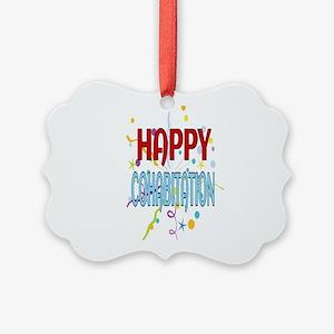 Happy Cohabitation Picture Ornament