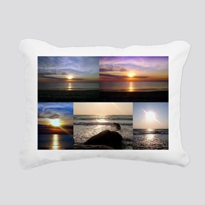 Cape Cod Glorious Sunsets Rectangular Canvas Pillo