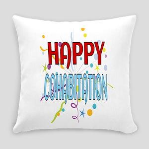 Happy Cohabitation Everyday Pillow
