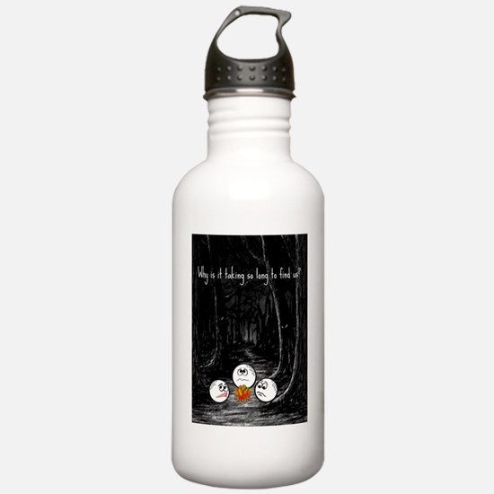HB Golfer card Water Bottle