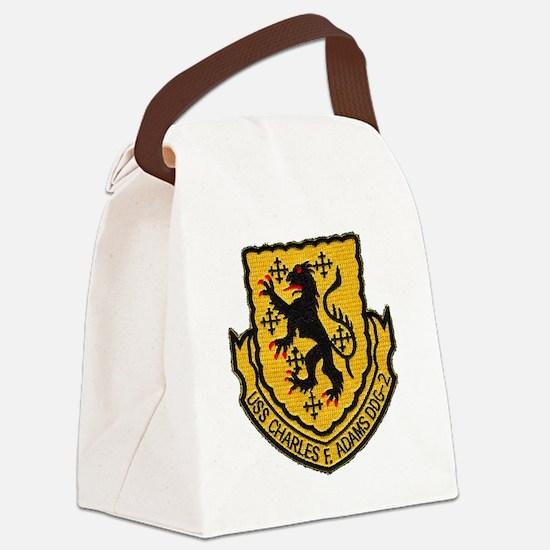 cfadams patch Canvas Lunch Bag