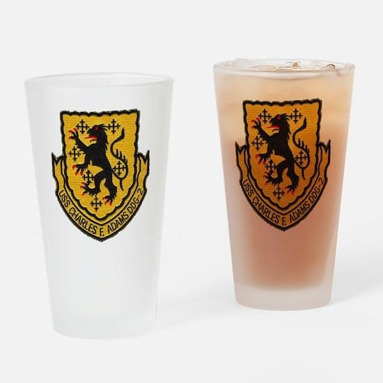 cfadams patch Drinking Glass