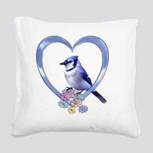 BJHEART Square Canvas Pillow