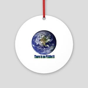 Planet B Round Ornament