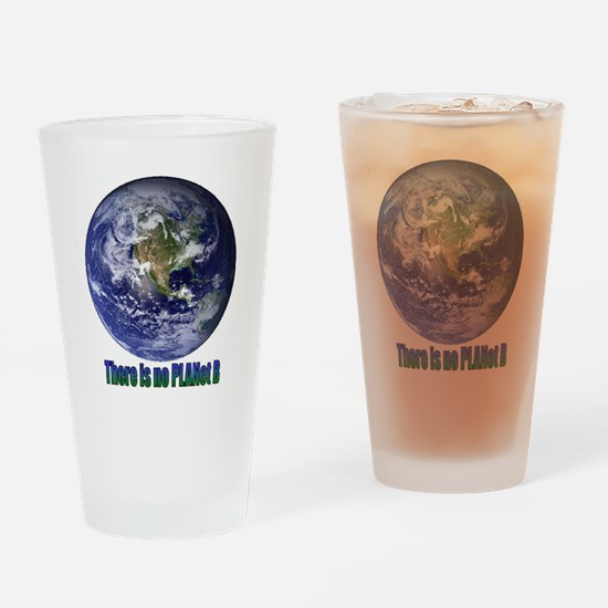 Planet B.gif Drinking Glass