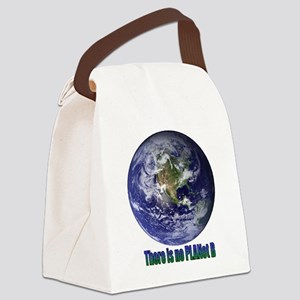 Planet B Canvas Lunch Bag