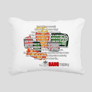 Sheldon's Gift Rectangular Canvas Pillow