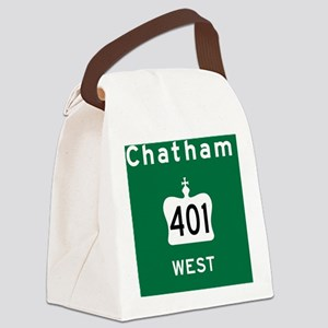 Chatham 401 Rec Mag Canvas Lunch Bag