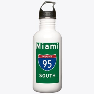 Miami 95 Rec Mag Stainless Water Bottle 1.0L