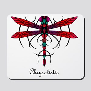 Astral Dragonfly pillow Mousepad
