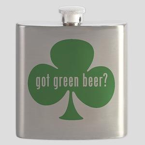 Got Green Beer? Flask