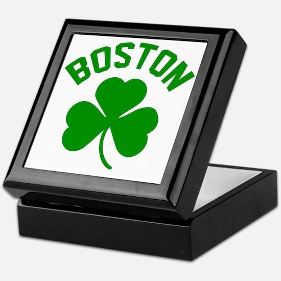 Boston Green Keepsake Box
