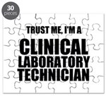 Trust Me, Im A Clinical Laboratory Technician Puzz