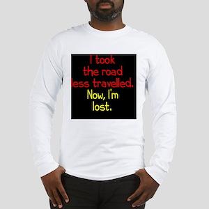 less-travelled_rnd2 Long Sleeve T-Shirt