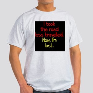less-travelled_rnd2 Light T-Shirt