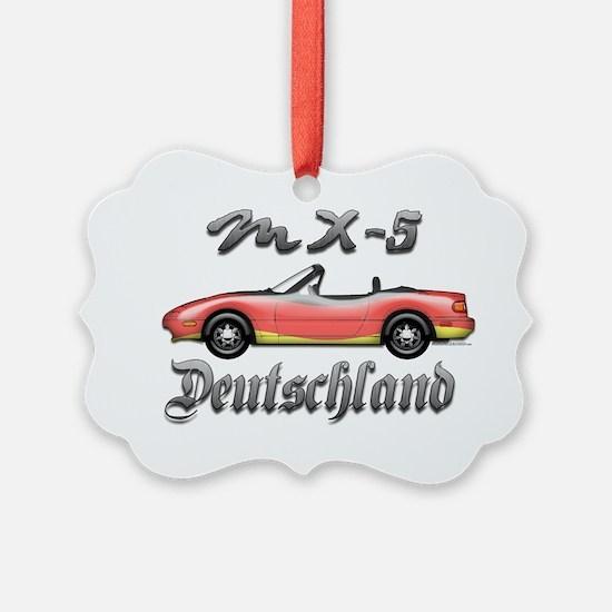 MX-5 Deutschland front Ornament