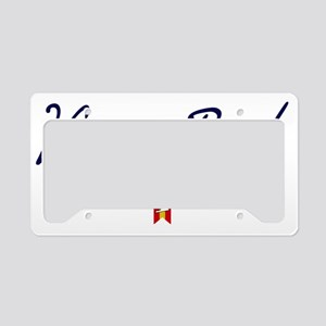 Virginia Beach Script W License Plate Holder