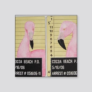 "badbird1X Square Sticker 3"" x 3"""