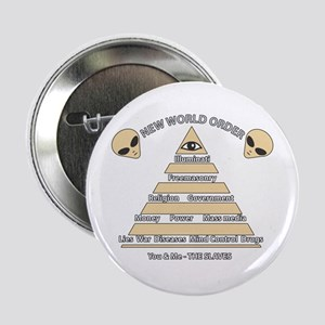 NWO conspiracy Button