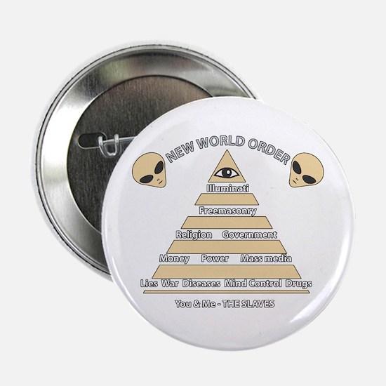 NWO conspiracy Button