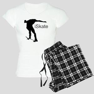 iSkate_Sillhouete Women's Light Pajamas