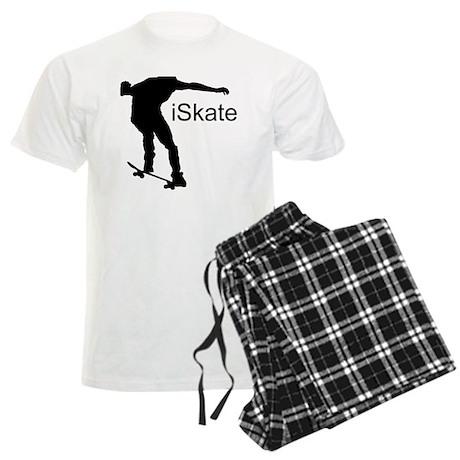 iSkate_Sillhouete Men's Light Pajamas