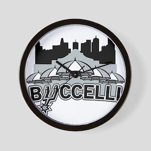 Buccelli River City Wall Clock