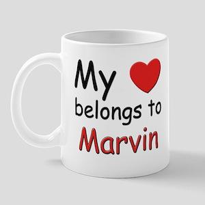 My heart belongs to marvin Mug