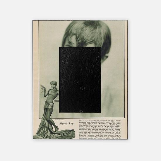 Myrna Loy 1925 Picture Frame