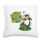 LHS Logo Square Canvas Pillow
