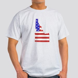 Idaho Flag Light T-Shirt