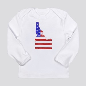 Idaho Flag Long Sleeve Infant T-Shirt