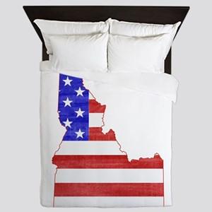 Idaho Flag Queen Duvet