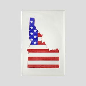 Idaho Flag Rectangle Magnet