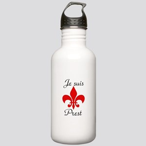 je suis prest Sports Water Bottle
