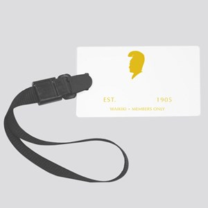 King Kamehameha Club Large Luggage Tag
