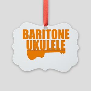 baritone ukulele uke Picture Ornament
