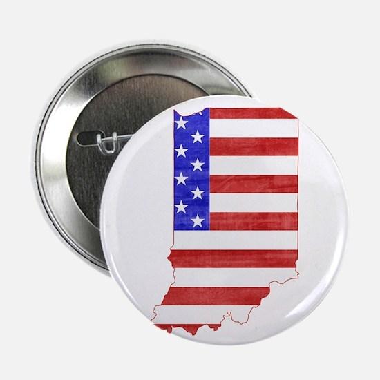 "Indiana Flag 2.25"" Button"