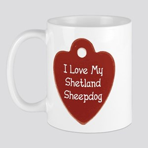 Sheltie Tag Mug