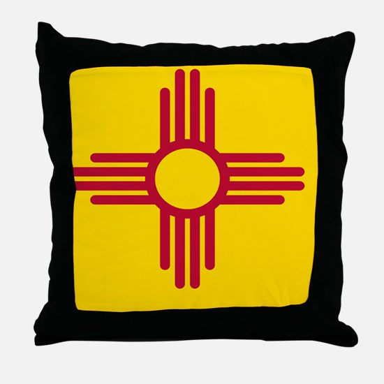 nm-flag Throw Pillow